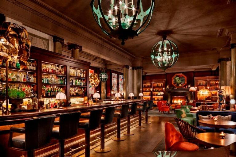Londons Largest Gin Bar Can Be Found At Holborn Dining Room Which Is Also Located Rosewood London There No Better Spot To Sample The Diversity Of
